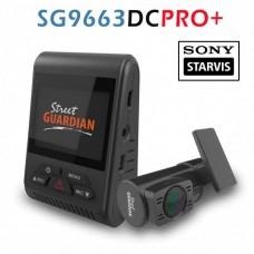 Street Guardian SG9663DC PRO+ cameră auto duală Full HD cu senzori video Sony IMX291 Starvis