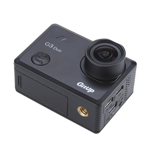 Cameră video sport duală GitUp G3 Duo Quad HD WiFi Sony IMX117 Gyro