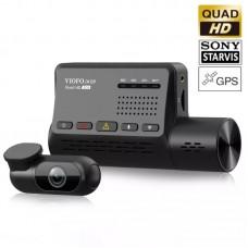 VIOFO A139 Duo GPS Cameră auto DVR duală 2K Quad HD Wi-Fi cu senzori de imagine Sony
