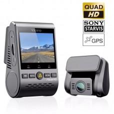 VIOFO A129 Plus Duo GPS Cameră auto DVR duală 2K Quad HD Wi-Fi cu senzori de imagine Sony