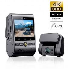 VIOFO A129 PRO Duo GPS Cameră auto DVR duală 4K Ultra HD Wi-Fi cu senzori de imagine Sony